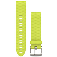 QiuckFit 20 Watch Bands, Yellow Silicone