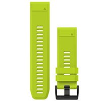 QiuckFit 26 Watch Bands, Amp Yellow Silicone