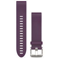QiuckFit 20 Watch Bands, Amethyst Purple Silicone