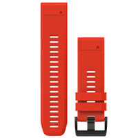 QiuckFit 26 Watch Bands, Flame Red